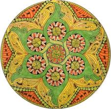 Relieve Stress By Coloring Mandalas
