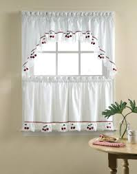 White Eyelet Kitchen Curtains by White Swag Curtains U2013 Evideo Me