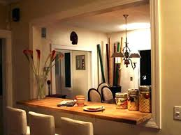 Kitchen Pass Through Ideas Gorgeous Wall On Window To Dining Room