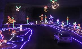 $15 for e Admission to Holiday Lights Show Louisville Mega