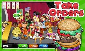 jeux de cuisine pizza papa louis papa s burgeria android apps on play