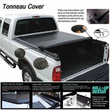 F150 Bed Cover by Fits 2004 2017 Ford F150 Soft Roll Up Lock Tonneau Cover 5 5ft
