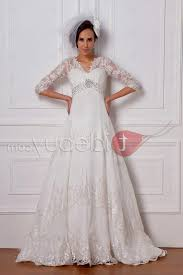 plus size wedding dresses with 3 4 sleeves naf dresses