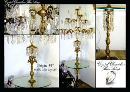Ebay Antique Floor Lamps by Table Lamp Vintage Waterford Crystal Table Lamps With Prisms