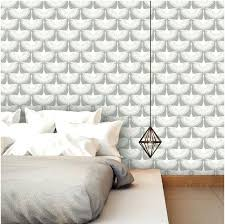 Temporary Wall Paper Cement Concrete Peel Stick Fabric Wallpaper