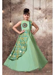 Designer Wedding Wear Hand Work Kids Gown