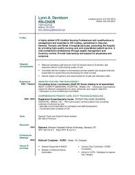 New Grad Nursing Resume Objective Example