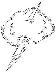 Lightning Coloring Pages 2 Thief