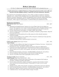 Maintenance Resume Samples Fresh Concepts Building Of Png 1275x1650 Property