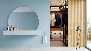 halbrunder spiegel rund mit und ohne beleuchtung