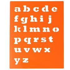 Kinder Capitall Alphabet Brief Zeichnung Vorlagen 6 Stücke Waschbar