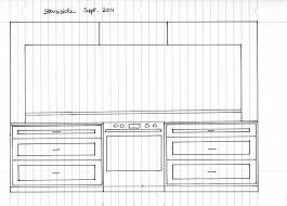 Sept 2011 Stove Side Kitchen Drawing