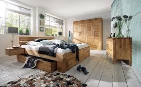 schlafzimmer set kompletteinrichtung kernbuche massiv geölt bett schrank kommode