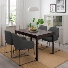 mörbylånga volfgang tisch und 4 stühle braun gunnared