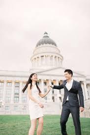 Engagement Shoot Ideas E Session In Joshua Tree National Park by Utah Capital Building Pre Wedding Andy Lin Utah Wedding