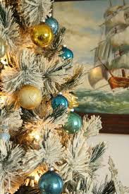 Seashell Christmas Tree Ornaments by 473 Best Coastal Christmas Images On Pinterest Coastal Christmas