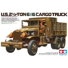 100 6x6 Military Truck Tamiya 35218 135 US 25 Ton Cargo AFV Assembly