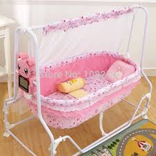 Hot sale Automatic Swing Baby Cradle Shaker Bed Mosquito Net 100