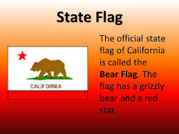 State Flag The Official Of California Is Called Bear