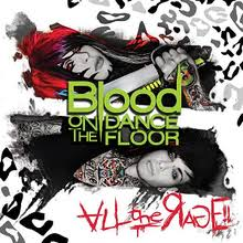 all the rage blood on the dance floor album wikipedia
