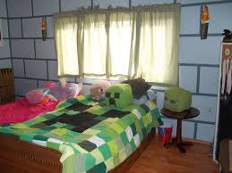 Minecraft Bedroom Wallpaper by Brick Wall Designs Front House Kingston Panel Interior Design