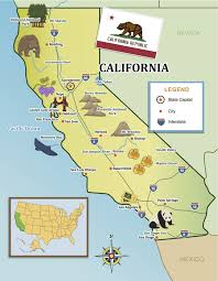 From The Golden Gate To Beaches Of SoCal Show Your Kids Californias Top Destinations With Our State Map Little Passports Littlepassports