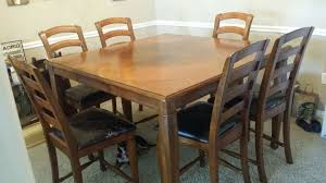 Value City Furniture Kitchen Chairs by Chair Esquire Table And 6 Chairs Cherry Value City Furniture