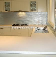 Embossed Silver Kitchen Splashbacks Tiles