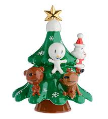 Christmas Tree Amazon Uk by Alessi The Hug Tree Hand Decorated Porcelain Figurine Amazon Co