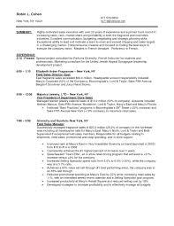 Beauty Sales Associate Resume Example Examples Retail Store Sample