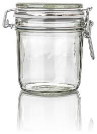 Clamp Lid Wide Mason Jars Set Of 10 Farmhouse Kitchen Canisters And