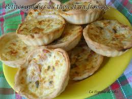 pate brisee au fromage petites quiches au thon et au fromage la popotte de silvi