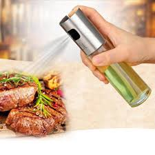 glas olivenöl sprayer öl spray flasche grill wasser essig sprayer kraftstoff injektor glas topf für küche werkzeuge zubehör