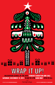 The Beautiful Wrap It Up Poster Created By Students In Integrated Design Program