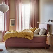 inspiration für ein schlafzimmer in braun rosa ikea österreich