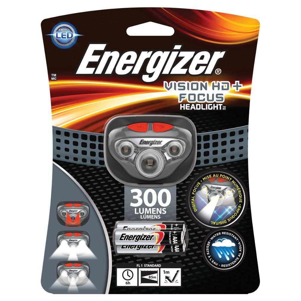 Energizer Vision HD Plus Focus Headlight - 250 Lumens