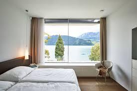 schlafzimmer mit ausblick backraum architektur moderne