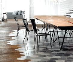 Full Image For Modern Loft Open Plan Dining Room Floor Transition Home Improvement Flooringtransition Flooring Ideas