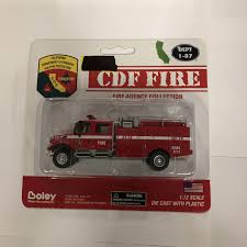 100 Boley Fire Trucks 457217 187 Crew Cab CDF Brsh Truck Rdwt Trainz