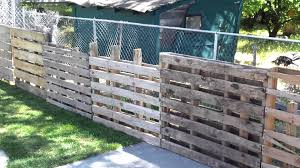 Wood Pallet Fence 0 To Make