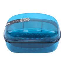 blau llziyan doppelschichten seifendose mit deckel