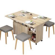 großhandel moderne holz kleine esszimmer platzsparend falten bankett tisch set buy kleine esstisch set holz klapp esstisch platzsparende küche tisch