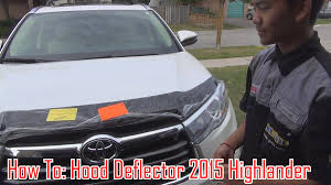 How To Install: Hood/Bug Deflector On 14/15/16/17/18 Toyota ... Ford Gl3z16c900a F150 Hood Deflector Smoked 52018 52016 Avs Bugflector Ii Bug Install Youtube Shields For Peterbilt Kenworth Freightliner Volvo Deflectors And Leonard Buildings Truck Accsories Weathertech 50139 Easyon Dark Smoke Stone Grille Surround Dieters Guard Suv Car Hoods Wade Platinum Get Fast Free Shipping Shield