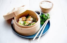 cuisine asiatique vapeur recette dés de lotte à la vapeur façon asiatique bien de chez nous