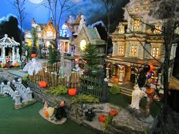 Lemax Halloween Village Displays by Halloween Village Display Department 56 Display Hd Wallpaper