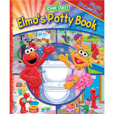 Elmo Potty Seat Cover by First Look And Find Elmo U0027s Potty Book Board Book Potty