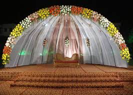 Outdoor Wedding Stage Decoration
