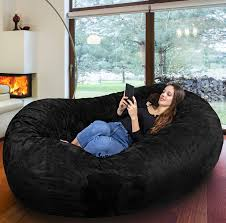 Europe's Biggest Beanbag - Gigantic Bean Bag Chair In Black - Memory Foam  Filling And Machine Washable Cover- Comfortable Cozy Lounge Sack To Chill,  ... Circo Oversized Bean Bag Target Kids Bedroom Makeover Small Office Bags The Best Chair Of 2019 Your Digs 7 Chairs Fniture Large In Red For Home 6 Zero Gravity 10 Best Bean Bags Ipdent Mediumtween Leather Look Vinyl Big Joe Xxl Beanbag At Walmart Popsugar Family Bag Chair Wikipedia