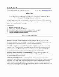 Sales Clerk Cover Letter New Sample Resume For Utility Fresh County