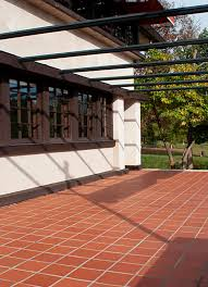 terracotta paving pedestrian for spaces outdoor
